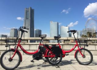 写真:横浜コミュニティサイクル baybike