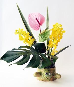 わくわく日曜造形講座「花器をつくろう」の画像