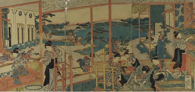 横浜・生糸ものがたりⅡ 開館60周年記念 「白き糸の調べ -かながわの製糸・撚糸-」の画像