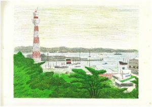 岩崎ミュージアム第438回企画展 馬場檮男 展 横濱*ワンダーランドの画像
