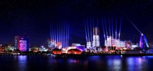 「NIGHT SYNC YOKOHAMA-ナイトシンクヨコハマ」光と舞踊のコラボレーションイベントの画像