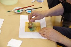 【開催中止】横浜市民ギャラリーコレクション展2020関連イベント ワークショップ「木版画摺り体験 摺りであらわす水辺の情景」の画像