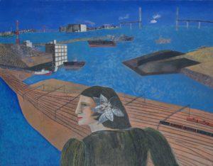 横浜市民ギャラリーコレクション展2020 うつし、描かれた港と水辺の画像