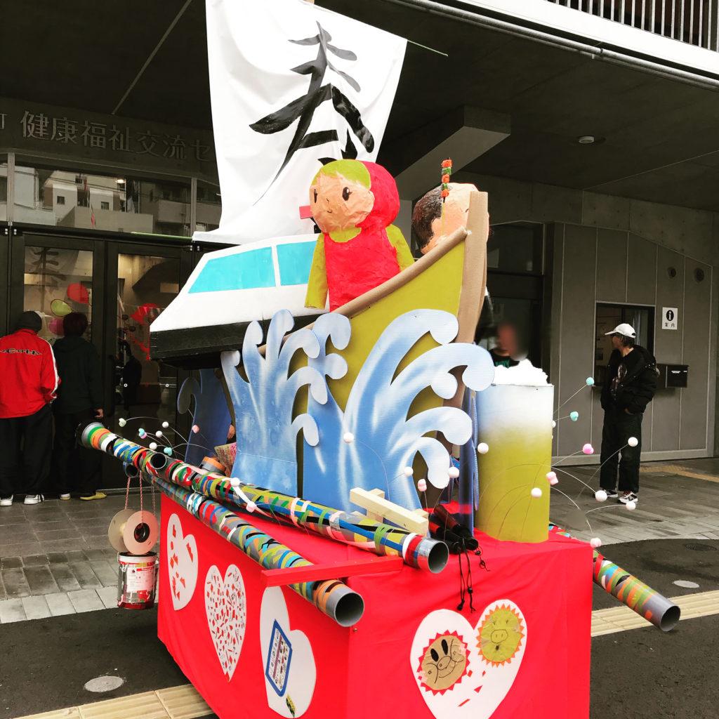 「寿町で子どもたちと山車まつりをしたいっ!」報告ミニ展示の画像