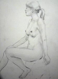 【開催中止】  大人のためのアトリエ講座「人体を描く―ヌードと着衣《全4回》」の画像