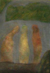 【開催延期】  岡田満 ドローイング展Ⅲ ‐幻燈奈良の画像