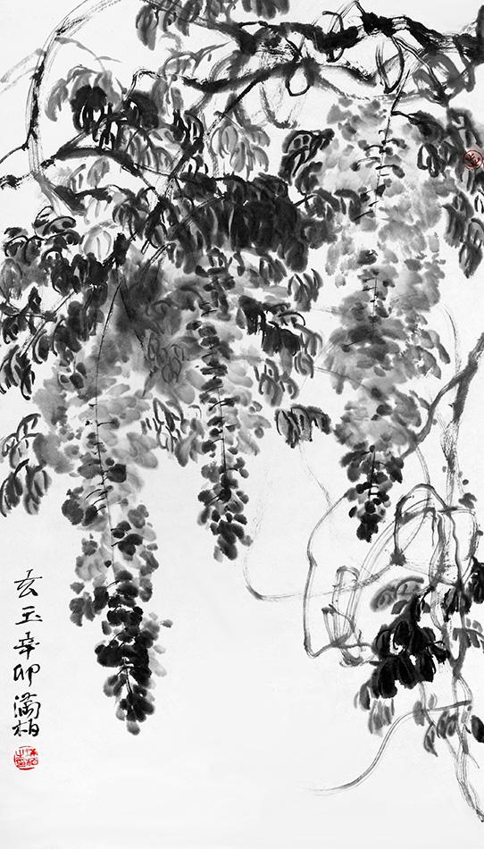 満柏芸術展・日中芸術家交流展の画像