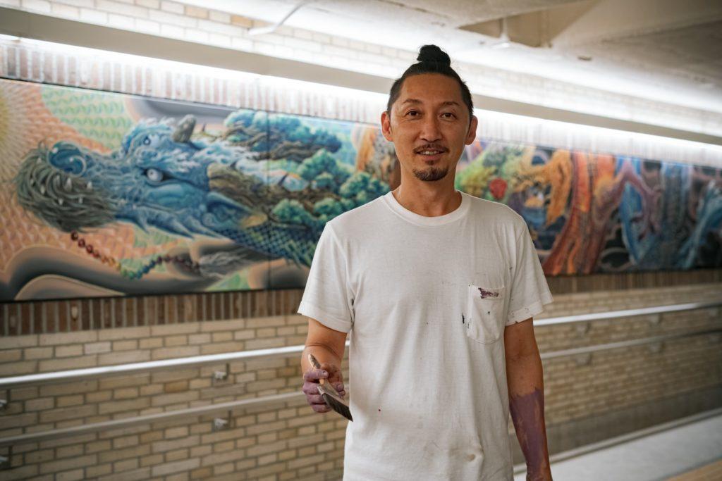 KENSUKE TAKAHASHI アートワークショップ2021 at 横浜ラポール MURAL WORKSHOPの画像