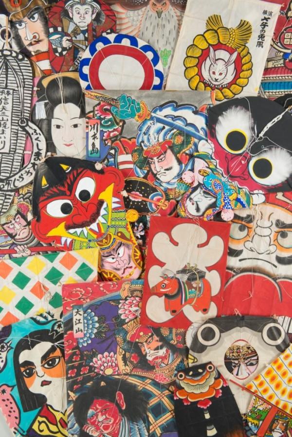 金子富夫凧コレクション 大空を彩るアート–凧で旅する日本と世界–の画像