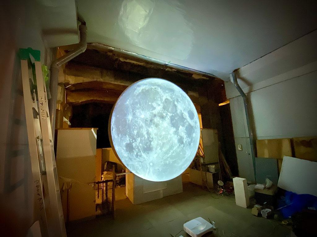 同じ月を見た日の画像