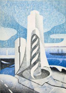 ワークショップ「木版画摺り体験 摺りであらわす水辺の情景」の画像