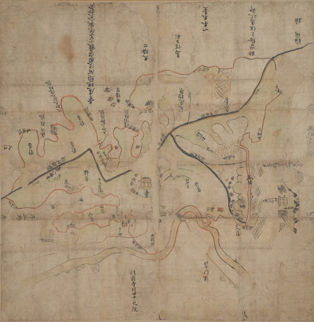 特別展「武蔵国鶴見寺尾郷絵図の世界」の画像