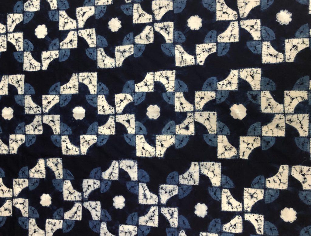 第34回 安藤宏子と遊草会「藍・絞染展」の画像