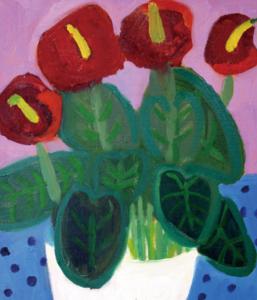 子どものためのプログラム 素材に挑戦!油絵を描こう(全4回)の画像