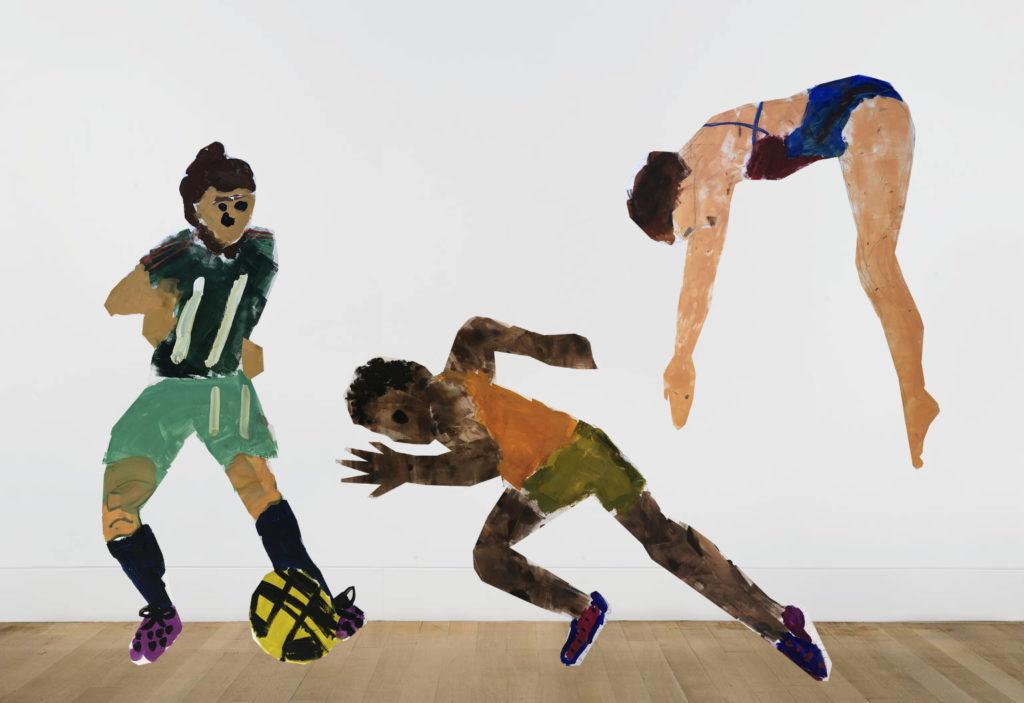 ハマキッズ・アートクラブ「アートリンピック―スポーツを等身大アートで表現しよう!」の画像