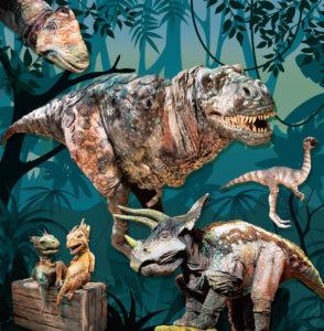 リアル恐竜ショー 恐竜パークの画像