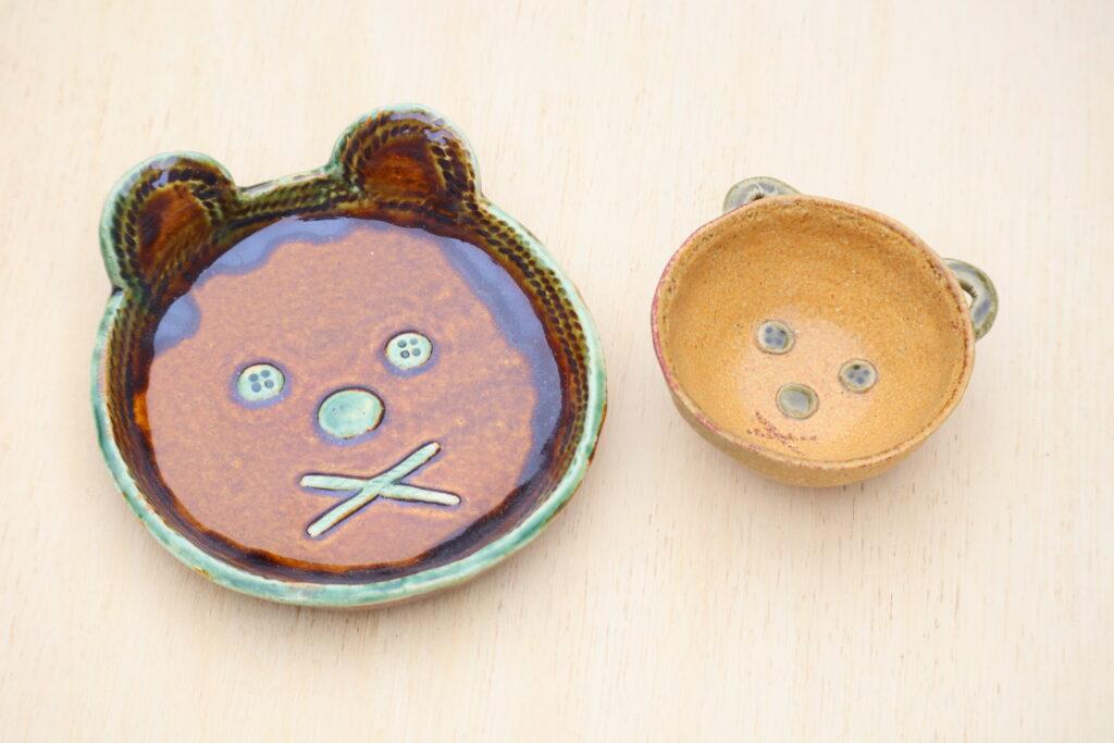 夏休み親子陶芸教室の画像