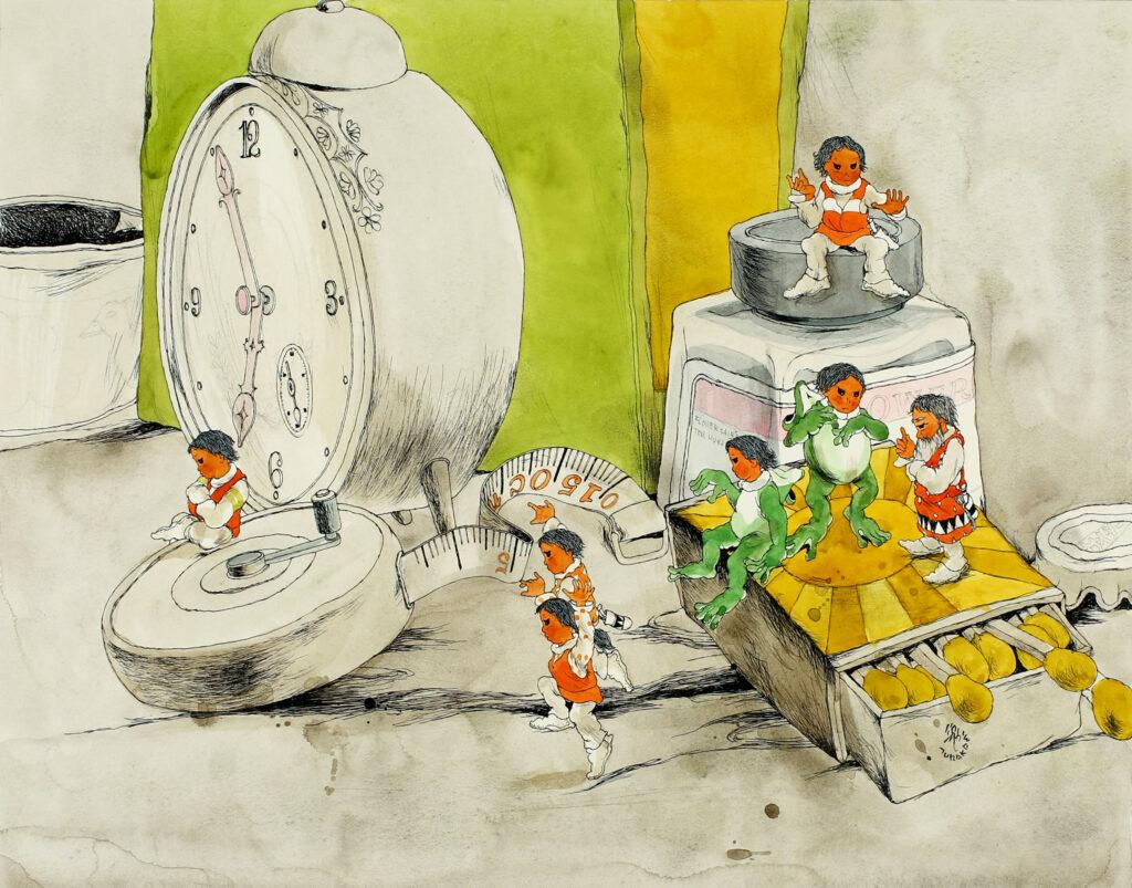 佐藤さとる展―「コロボックル物語」とともに―の画像