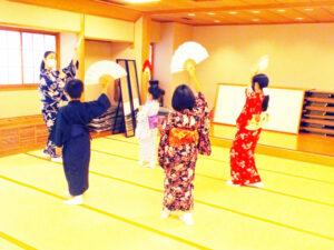 めざせ★やまとなでしこ&にっぽんだんじ!!日本舞踊ワークショップ展示の画像