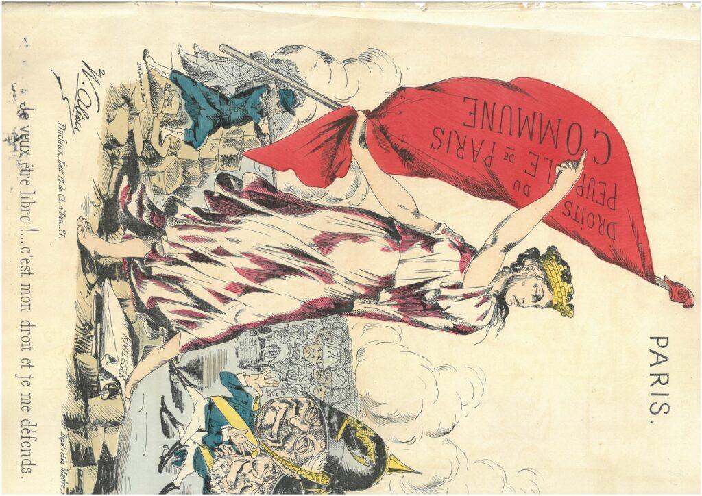 テーマ展示「パリ燃ゆ―名もなき者たちの声」の画像