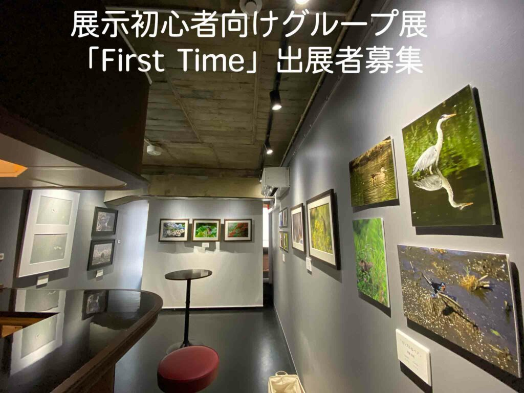 【作品募集】写真展初心者限定グループ展「First Time」の画像